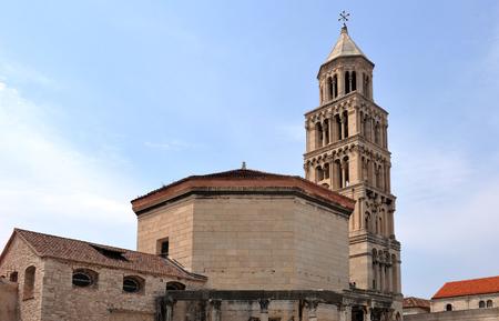 Cathedral of Saint Domnius in Split, Croatia Editorial