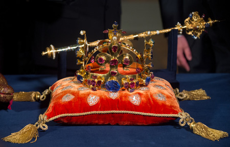Tsjechische kroonjuwelen Redactioneel