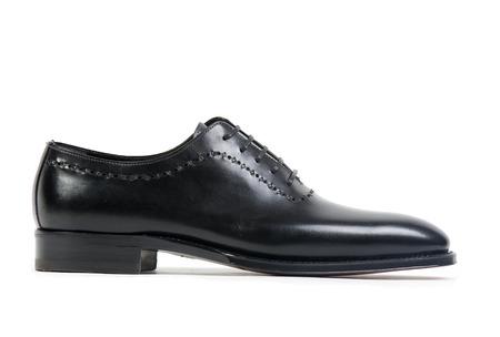 shocks: Black shoe Stock Photo