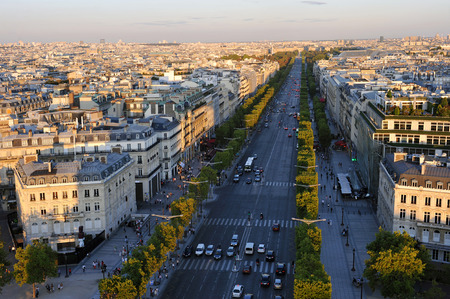 champs: Boulevard Champs Elysees