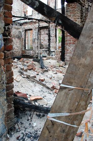 la quemada: edificio quemado