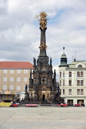 moravia: Olomouc - Holy Trinity Column
