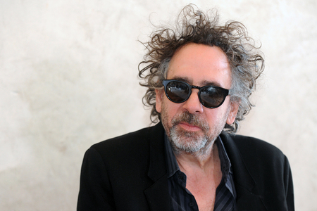 PRAGUE, CZECH REPUBLIC - MARCH 27, 2014: Famous American movie director Tim Burton During a press conference in Prague, Czech Republic, March 27, 2014.