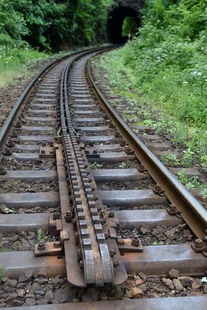 rack mount: Cogwheel railway line