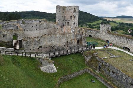 Castle Rabi Stock Photo