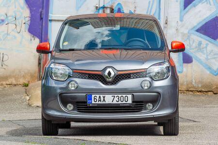 PRAGUE, CZECH REPUBLIC - JUNE 20, 2018: Renault Clio Sport in Prague, Czech Republic, June 20, 2018.