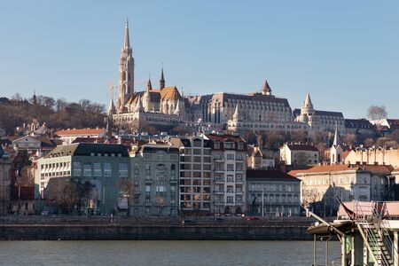 Famous Matthias Church in center of Budapest, Hungary