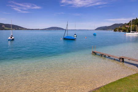 Attersee - lake in Upper Austria