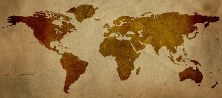 map of the world Stock Photo - 9708019