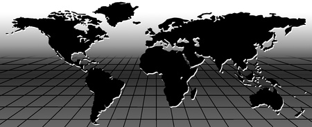 map of the world Stock Photo - 9769454