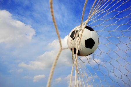 Fußball Standard-Bild