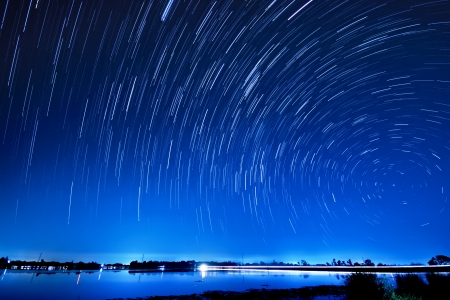star trail: Beautiful star