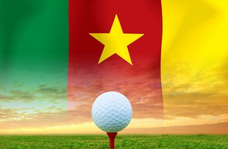 cameroon: Golf ball CAMEROON