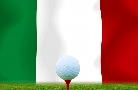 Golf ball ITALY photo