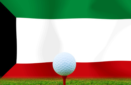 Golf ball Kuwait photo