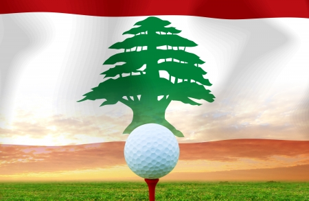 Golf ball LEBANON photo