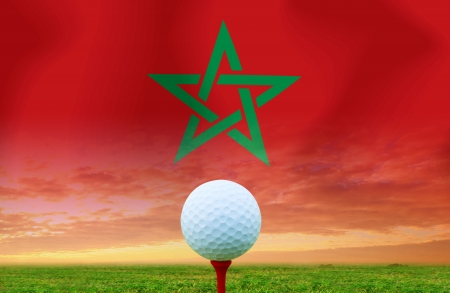 Golf ball Morocco photo