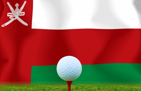 Golf ball Oman photo