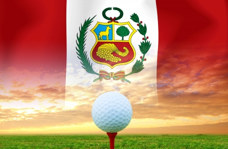 Golf ball Peru photo
