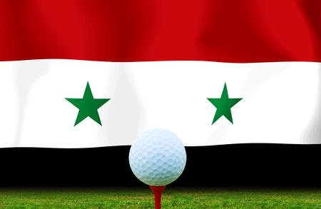 syrian: Golf ball Syrian