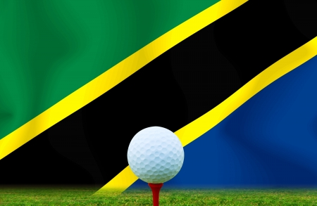 Golf ball TANZANIA photo