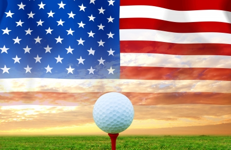 Golf ball United States of America
