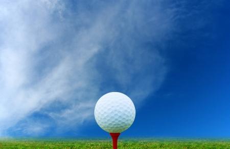 Golf-Ball Standard-Bild - 22671691