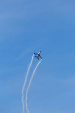 Air Show of F-16 Fighting Falcon