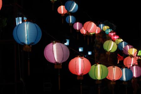 paper hanger: Chinese lanterns