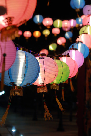 Chinesische Laternen Standard-Bild - 25623161