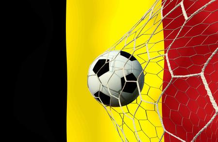 Belgien Fußball Standard-Bild - 26541799