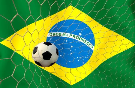 Brazil soccer ball photo