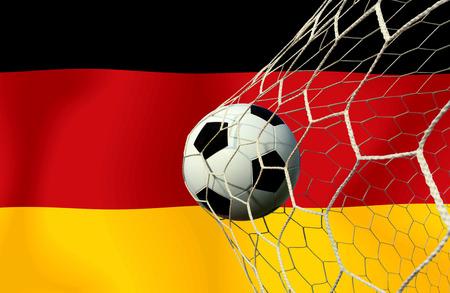 German soccer ball photo