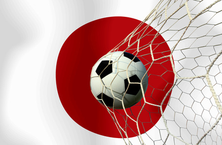japan soccer ball photo