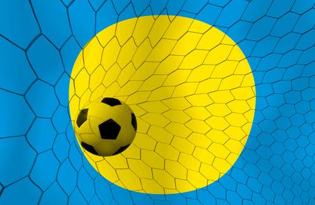 palau: PALAU soccer ball