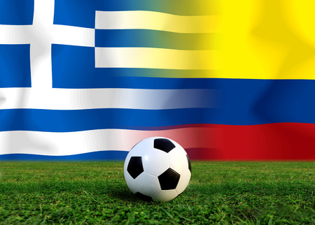 Soccer World Cup 2014 ( Football ) Colombia and Greece