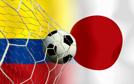 Soccer World Cup 2014 ( Football ) Colombia and Japan