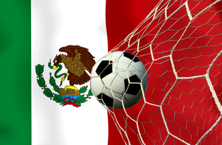 Mexico soccer ball photo