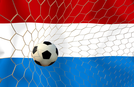 Netherlands soccer ball photo