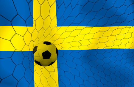 Sweden soccer ball photo