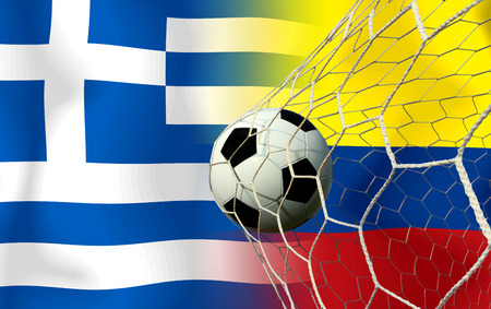 Soccer World Cup 2014   Football   Colombia and Greece  photo