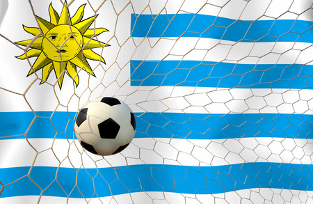URUGUAY soccer ball photo