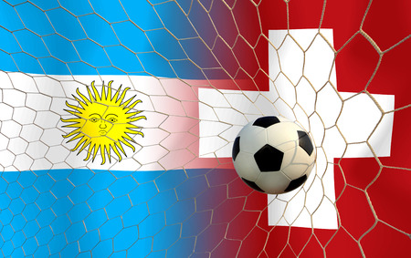 Soccer 2014   Football    Argentine and Switzerland photo