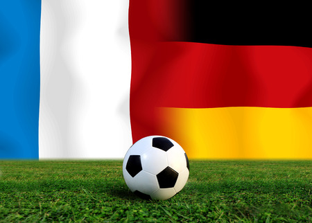 Soccer 2014   Football   France and German  photo