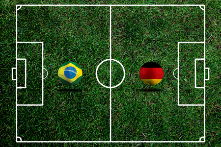 Soccer 2014   Football   Brazil and German photo