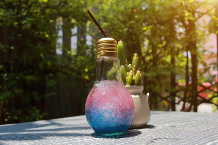 mocca: Trade Ideas for modern drinks packaged in a light bulb with a drink.
