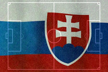 Fußball Euro 2016 (Fußball) Russland und der Slowakei