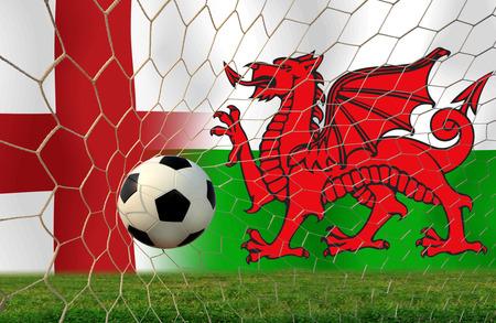 Fußball Euro 2016 (Fußball) England und Wales