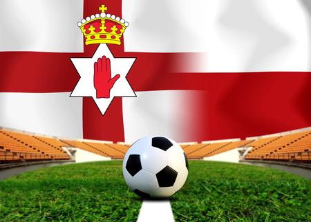 bandera de polonia: Soccer Euro 2016 ( Football )  North Ireland  and Poland