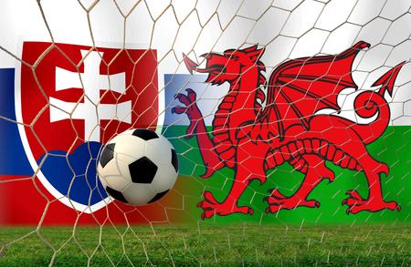 (Calcio) Slovacchia e Galles